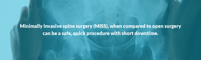 what is minimally invasive spine surgery