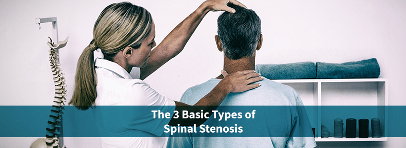man with spinal stenosis at chiropractor