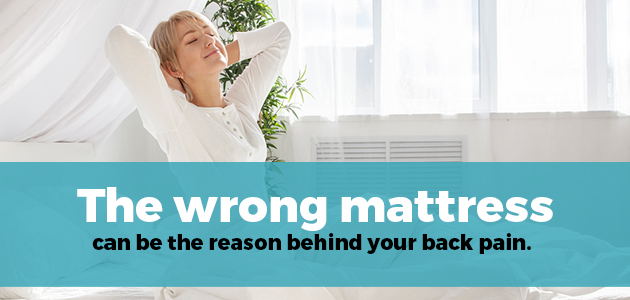mattress causing back pain