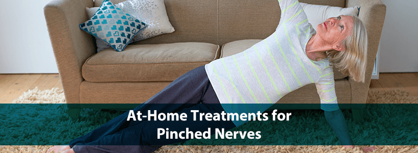 exercises for at-home treatment of pinched nerves